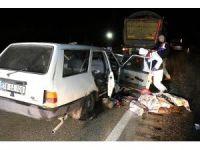 Karabük'te trafik kazası : 2 ölü, 1 yaralı