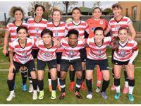 Döşemealtı Kadın futbol takımı, 3 puanı 3 golle aldı