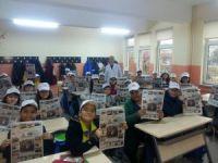 Öğrencilerden okul gazetesi