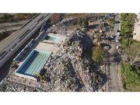 Bakırköy'deki olaylı yıkım alanı havadan görüntülendi