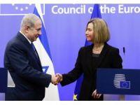 Netenyahu, AB Politika Sorumlusu Federica Mogherini ile bir araya geldi