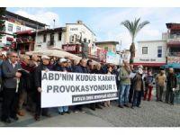 Antalya'da Emek ve Demokrasi Güçleri'nden Kudüs açıklaması