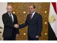 Rusya Devlet Başkanı Putin, Mısır'da