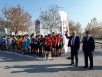 Kros Yarışmaların Startını İl Milli Eğitim Müdürü Osman Elmalı Verdi