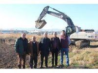 Suluova'da oto galericiler sitesinin inşası başladı