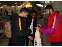 Galatasaray kafilesi Sivas'a geldi