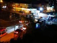 Trafik magandaları yolu kapattı vatandaşlar isyan etti