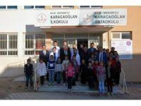 Musabeyli ilçesinde okul inşaatları devam ediyor