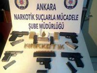 Başkentte uyuşturucuyla mücadelede 33 kişi tutuklandı