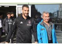 Beşiktaş kupa maçı için İzmir'e geldi