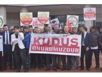 Aydın'da ADEM öğrencilerinden Kudüs tepkisi