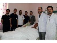 Bitlis'te omuz hizasından kopan kol Erzurum'da yerine dikildi