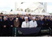 İTO Başkanı Çağlar'ın cenaze töreni