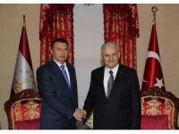 Başbakan Yıldırım, Tacikistan Başbakanı Rasulzade ile bir araya geldi