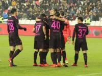 Ziraat Türkiye Kupası: Sivas Belediyespor: 1 - Galatasaray: 1 (İlk yarı)