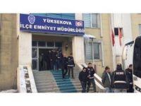 Hakkari merkezli 8 ilde FETÖ operasyonu: 15 gözaltı