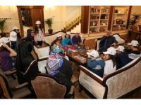 Öğrenciler, Başkan Remzi Aydın'a projelerini anlattı