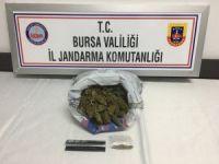 İstanbul'dan Bursa'ya uyuşturucu getirirken yakalandı