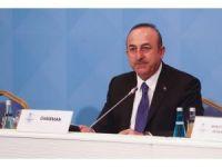 """Bakan Çavuşoğlu: """"Kudüs'ün kutsiyetine ve tarihi statüsüne el uzatılmasına asla el veremeyiz"""""""