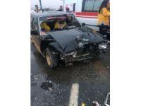 Yoğun sis kazaya neden oldu: 8 yaralı