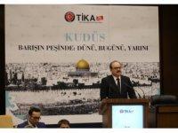 """Bilal Erdoğan: """"Batı uygarlığı maalesef Kudüs'e de kan getirdi"""""""