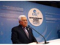 """Filistin Devlet Başkanı Abbas: """"Bizler barış için uğraşırken, bir anda bize yüzyılın tokadını vurdular"""""""