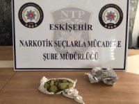 Eskişehir'de 670 gram toz esrar ele geçirildi
