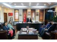 İlçe Sağlık Müdüründen Başkan Yılmazer'e nezaket ziyareti