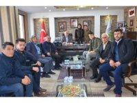 Dursunbey AK Parti, Başkan Bahçavan'ı ziyaret etti