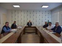 Salihli OSB'de yılın son toplantısı yapıldı