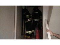 Kızıltepe'de ev yangını