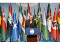"""Erdoğan: """"Filistin devletini henüz tanımamış tüm ülkelere derhal Filistin'i tanıma çağrısı yapıyorum"""""""