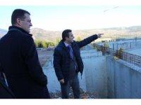 Ürkmezer, Safranbolu isale hattı ve arıtma tesisi inşaatını inceledi