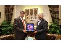 UDEF Genel Başkanı'ndan Rektör Polat'a ziyaret