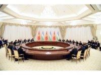 """Özbekistan Cumhurbaşkanı Mirziyoyev: """"Kırgızistan ile aramızda sınıra gerek yok"""""""