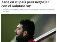 Arda Turan, Galatasaray ile masaya oturdu iddiası