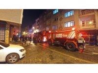 Zeytinburnu'nda korkutan iş yeri yangını
