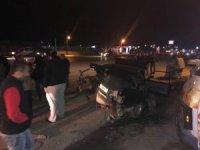 Sakarya D-100'de trafik kazası: 2 yaralı