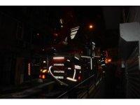 Şişli'de çatıda çıkan yangın kısa süreli paniğe neden oldu
