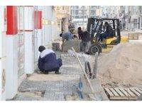 Suat Baykal Caddesi'nde asfalt ve kaldırım sorunu çözüldü