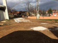 Gölkonak Köyü sokaklarına parke taşı döşeniyor