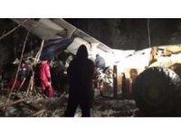 Kanada'da yolcu uçağı düştü