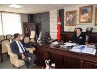 İl Sağlık Müdürü ve Bozüyük Devlet Hastanesi Başhekimi Başkan Bakıcı'yı ziyaret etti