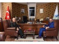 EDOK komutanı Dalkıran'dan başkan Üzülmez'e ziyaret