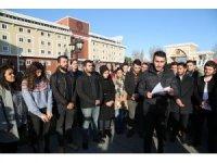 Üniversite öğrencilerinden Kudüs için ortak bildiri