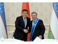 Özbekistan Cumhurbaşkanı'na, Kırgızistan'dan Uzlaştırıcı Nişanı