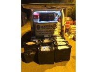 Midyat'ta 10 bin paket kaçak sigara ele geçirildi