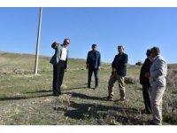 Başkan Karaçoban'dan çalışmalara yerinde inceleme