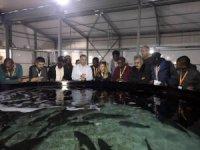 Botsvanalı ve Gambiyalı uzmanlara balıkçılık eğitimi