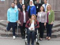 Engellilere sağlıklı üreme anlatıldı